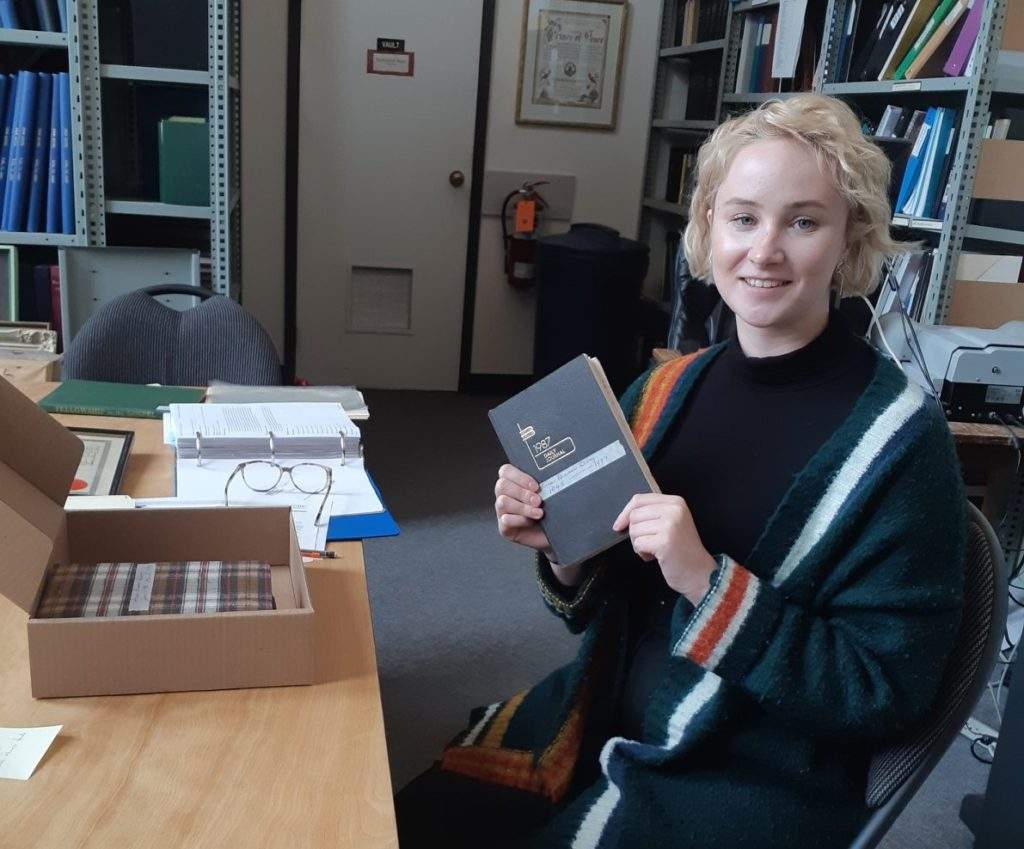 Katie Lynch, Archival Assistant