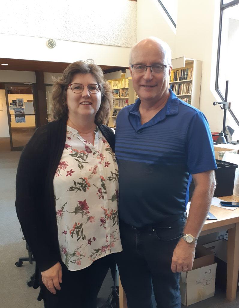 Researchers Irv and Sharon Goertzen