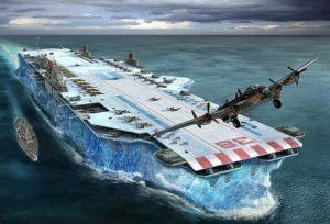 Habukkuk ice ship