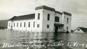 First Mennonite Church - Flooded