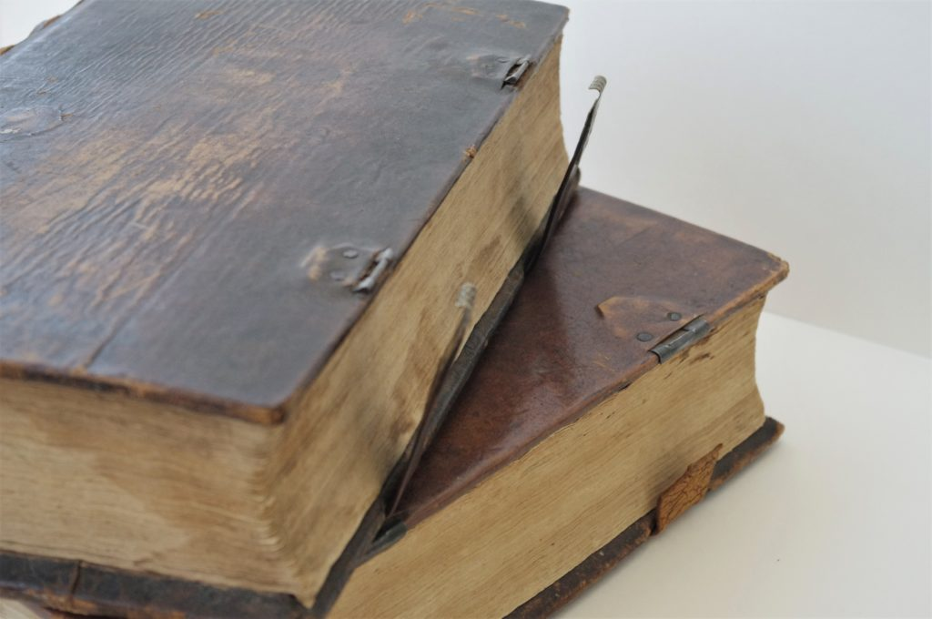 Two Martyrs Mirror Books from 1814